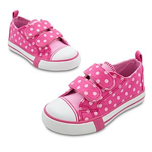 Polka Dot Minnie Mouse Sneakers for Girls