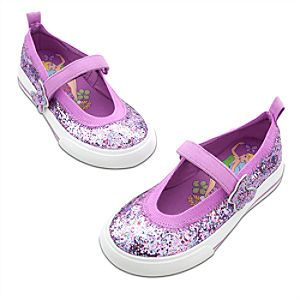 Glitter Tinker Bell Sneakers for Girls
