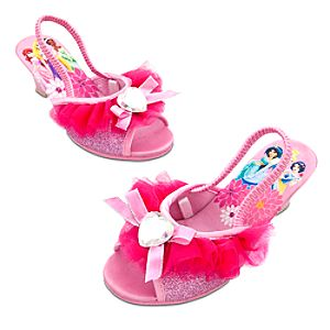 Dressy Disney Princess Slippers for Girls