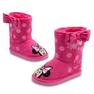 Minnie Mouse Boots for Girls
