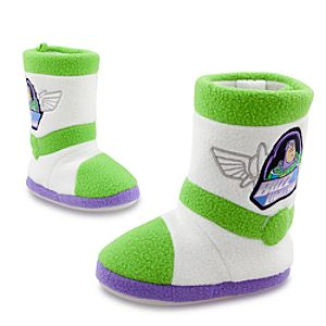 Buzz Lightyear Slippers for Boys