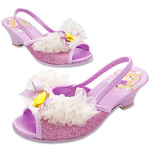 Dressy Wedding Rapunzel Slippers for Girls