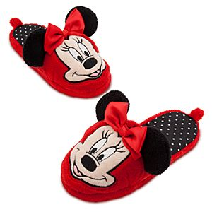 Minnie Mouse Deluxe Slippers for Girls
