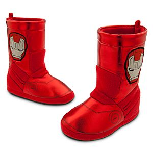 Iron Man Deluxe Slippers for Boys
