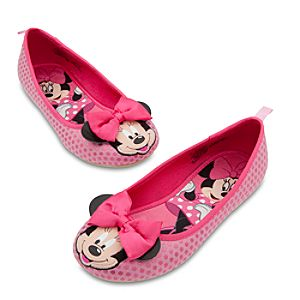 Minnie Mouse Flat Shoes for Girls