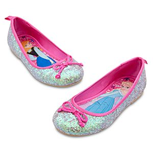Anna and Elsa Flat Shoes for Girls - Frozen
