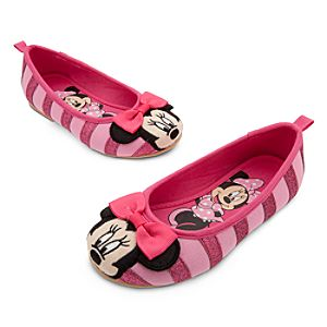 Minnie Mouse Pink Flats for Girls