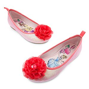 Disney Princess Ballet Flats for Girls