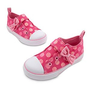 Minnie Mouse Polka-Dot Sneakers for Girls