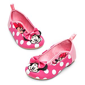 Minnie Mouse Flat Shoes for Girls - Pink
