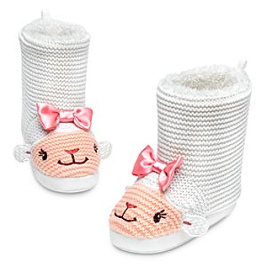 Lambie Plush Boots for Girls - Doc McStuffins
