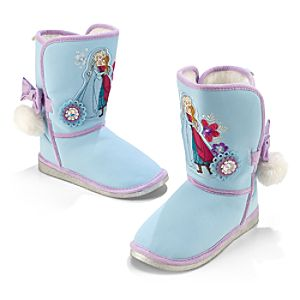 Anna and Elsa Boots - Frozen