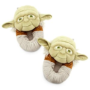 Yoda Plush Slippers for Adults - Star Wars