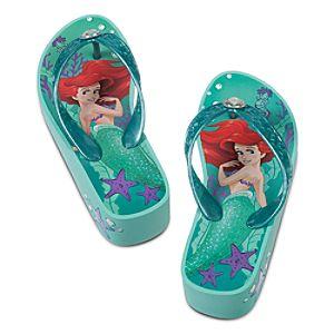 Ariel Platform Flip Flops for Girls
