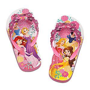 Disney Princess Flip Flops for Girls