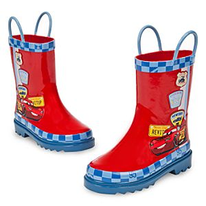 Lightning McQueen Rain Boots for Boys