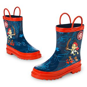 Jake and the Never Land Pirates Rain Boots for Boys