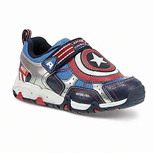 Captain America Light-Up Sneakers for Boys by Stride Rite