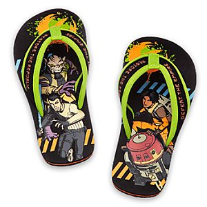 Star Wars Rebels Flip Flops for Kids