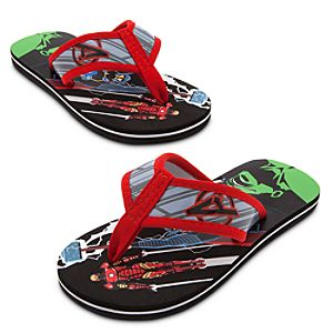 The Avengers Flip Flops for Kids