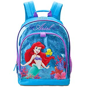 Personalized Ariel and Friends Backpack