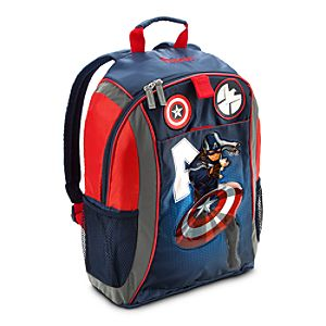 Back to School Backpacks for Boys |Captain America Backpack - Personalizable