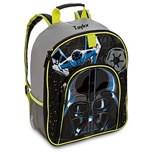 Back to School Backpacks for Boys |Darth Vader Star Wars Backpack - Personalizable