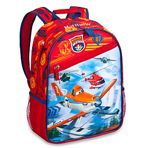 Back to School Backpacks for Boys |Planes: Fire & Rescue Backpack - Personalizable