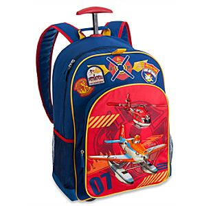 Back to School Backpacks for Boys |Planes: Fire & Rescue Rolling Backpack