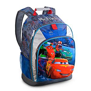 Back to School Backpacks for Boys |Cars Backpack - Personalizable