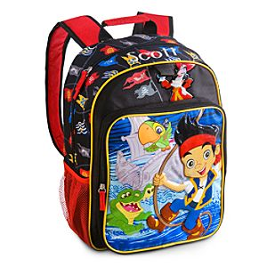Back to School Backpacks for Boys |Jake and the Never Land Pirates Backpack - Personalizable