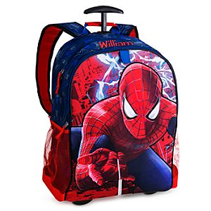 Back to School Backpacks for Boys |The Amazing Spider-Man 2 Rolling Backpack - Personalizable
