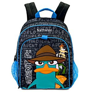 Personalized Phineas and Ferb Agent P Backpack