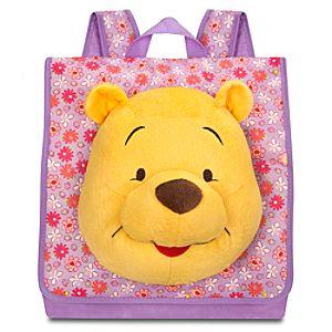 Plush Winnie the Pooh Backpack