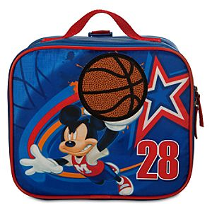 Basketball Mickey Mouse Lunch Tote