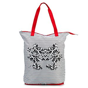 Minnie and Mickey Mouse Zip Tote