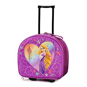 Tangled Rapunzel Rolling Luggage