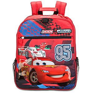 Personalizable Cars 2 Backpack for Boys