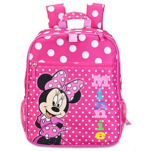 Personalizable Minnie Mouse Backpack