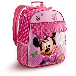 Personalizable Minnie Mouse Backpack -- Pink