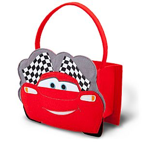 Lightning McQueen Trick or Treat Bag