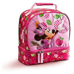 Minnie Mouse Lunch Tote -- Pink