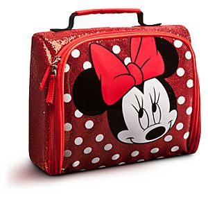 Minnie Mouse Lunch Tote -- Red