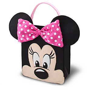 Minnie Mouse Trick or Treat Bag - Pink