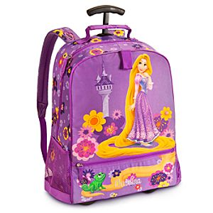 Rapunzel Rolling Backpack - Personalizable