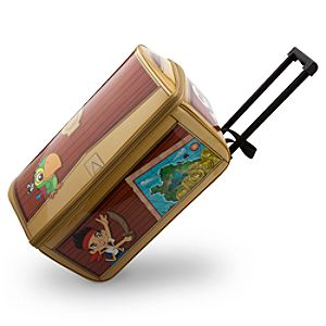 Jake and the Never Land Pirates Rolling Luggage