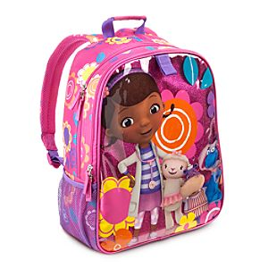 Doc McStuffins Backpack - Personalizable