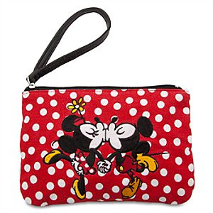 Mickey and Minnie Mouse Makeup Bag