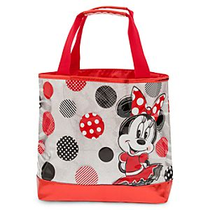 Minnie Mouse Swim Bag - Red