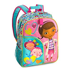 Back to School Backpacks for Girls |Doc McStuffins Backpack - Personalizable